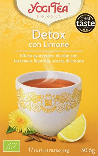 Yogi Tea Detox con Limone - 17 Bustine Filtro [30.6 gr]
