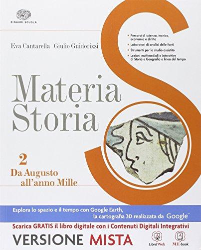 Materia storia. Per gli Ist. professionali. Con e-book. Con espansione online (Vol. 2)