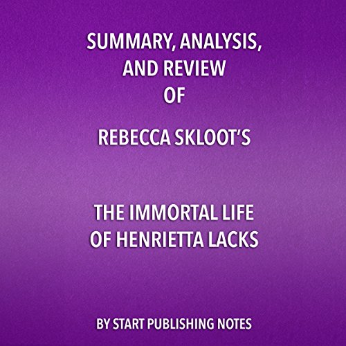 Summary and Analysis of The Immortal Life of Henrietta Lacks audiobook cover art