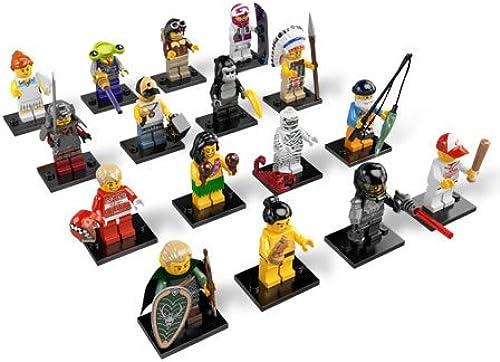 servicio considerado LEGO Minifigure Minifigure Minifigure 8803 Series 3 - Juego Completo de 16  precios ultra bajos