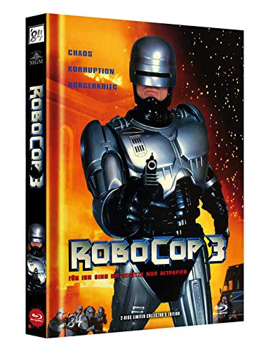 RoboCop 3 - 2-Disc Limited Collector's Edition - Uncut - Mediabook, Cover A (+ DVD) [Blu-ray]