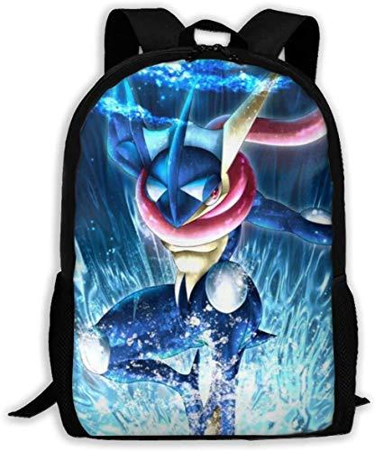 BAGGNICE Poke Gre-Ninja Kid's School Backpack Durable Lightweight Elementary Students Bookbags Daypacks for Boys&Girls