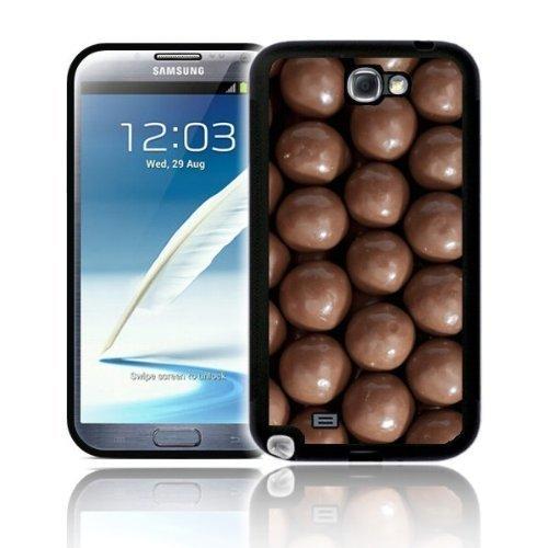 'Schokolade Bar, Smarties, Jellybean Süßigkeiten, Maltesers' Skin für Samsung Galaxy Note 2N7100Super Schutzhülle Polycarbonat Case Cover–Schnell Ship, plastik, Maltesers, To fit Galaxy Note 2 Phone