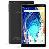 Android Tablet Pritom 8 inch Android 9.0 OS Tablet, 2GB RAM, 32GB ROM, Quad Core Processor, HD IPS Screen, 2.0 Front + 8.0 MP Rear Camera, Wi-Fi, Bluetooth, Tablet PC(Black)
