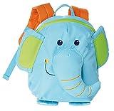 SIGIKID 24621 Mini Rucksack Elefant Bags Mädchen und Jungen Kinderrucksack empfohlen ab 2 Jahren blau