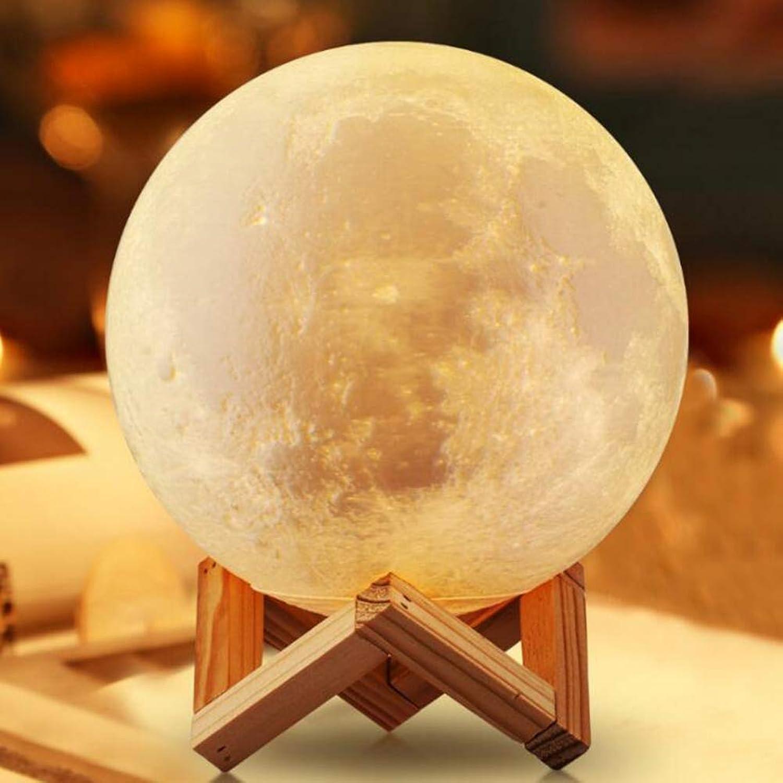 Qzny Atmosphären Lampe, 3D-Licht, 3D-Licht, 3D-Licht, Nachttischlampe, Mondlicht, LED-Ladenacht Licht, Dekoratives Licht, Fütterungs Lampe, Weihnachts Geburtstagsgeschenke,A,15Cmremotecontrol16Farbes B07J43MDWJ | Überlegen  2b799e