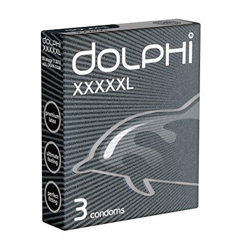 Dolphi «XXXXXL» 3 große Kondome (56mm)