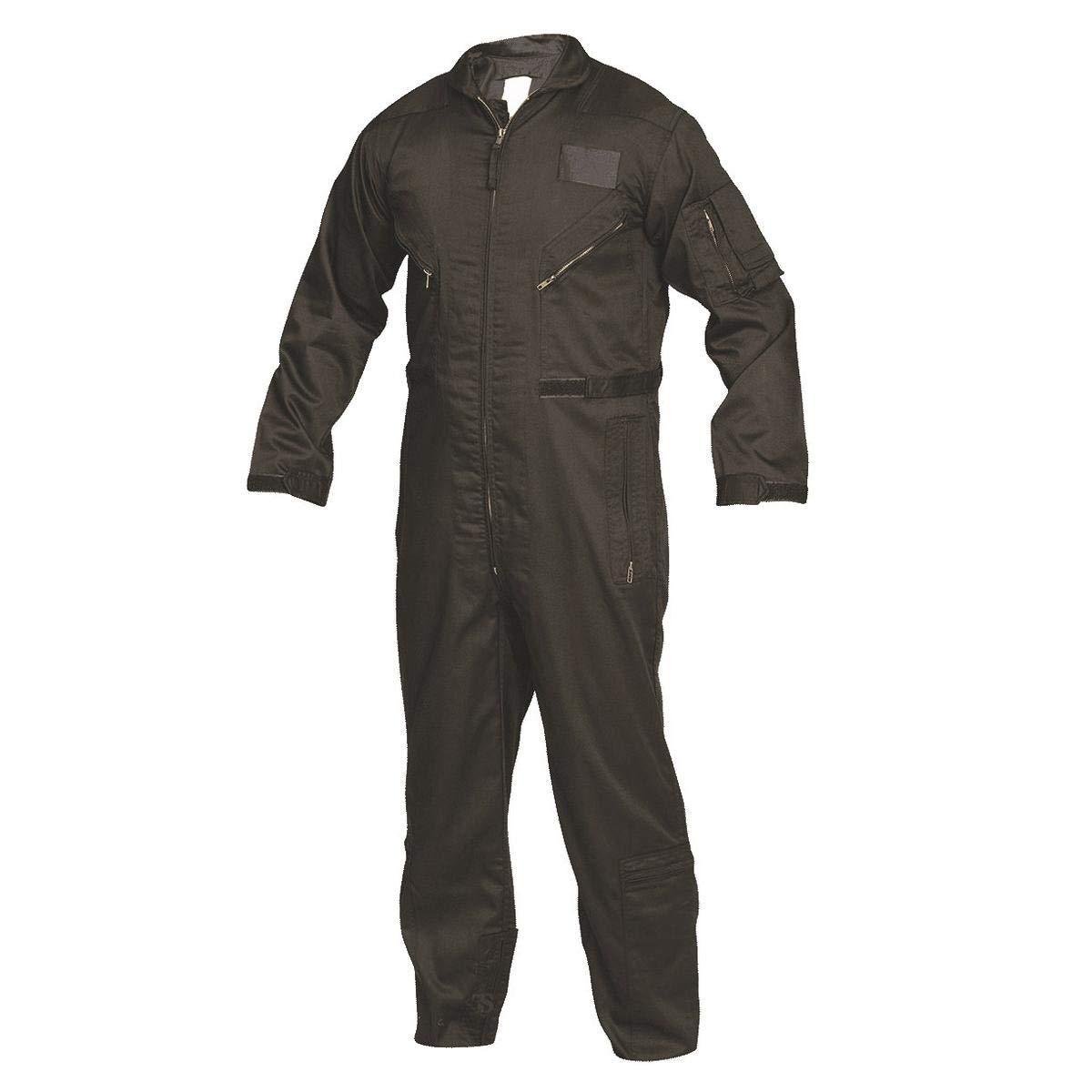 Black Medium Regular Tru-Spec 2653004 27-P Basic Flight Suit