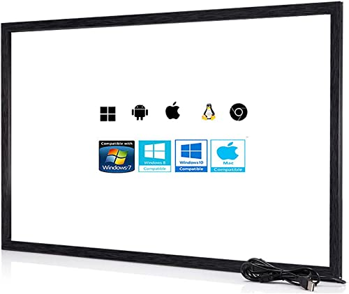 Chengying 65 Inch 10 Points Multi-Touch Infrared Touch Frame - IR Touch Panel - 65 Inches Infrared Touch Overlay - US...