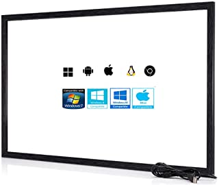 Chengying 40 pulgadas 10 puntos multitáctil infrarrojo marco táctil IR panel táctil 40 pulgadas infrarrojo Touch Overlay USB Driver Free HID compatible