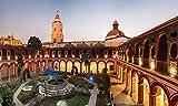 lunaprint Evening Peru Santo Domingo Monastery In Lima