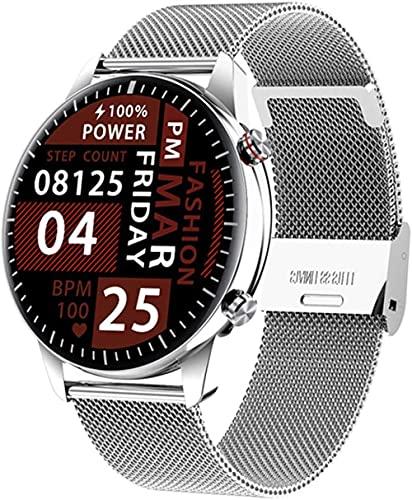 hwbq Smartwatch, wasserdicht, 1 GB, Bluetooth, Business-Anrufuhr, Armband für Herren und Damen, Monitor-B