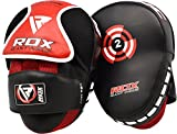 RDX MMA Incurvé Pattes d'ours Boxe Muay Thai Pao Frappe Cible Kick Boxing Pads Mitaines...