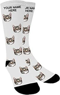 Calcetines personalizados, calcetines divertidos hombre, regalo del día del padre, cumpleaños, día de Navidad