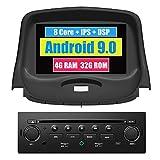 Roverone sistema Android 7 Pollici doppio DIN autoradio GPS per Peugeot 206 206 CC 206SW con navigazione radio stereo Bluetooth SD USB DVD touch screen
