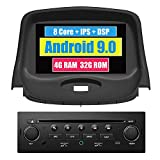 RoverOne Reproductor de DVD del Coche para Peugeot 206 206CC 206SW con Android Navegación GPS Estéreo Multimedia Pantalla táctil Bluetooth WiFi USB MirrorLink