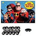 """Disney/Pixar Incredibles 2"""" Party Game, Party Favor by Amscan"""