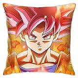 CVDGSAD Housses de coussin Dragon Ball Super Son Goku Super