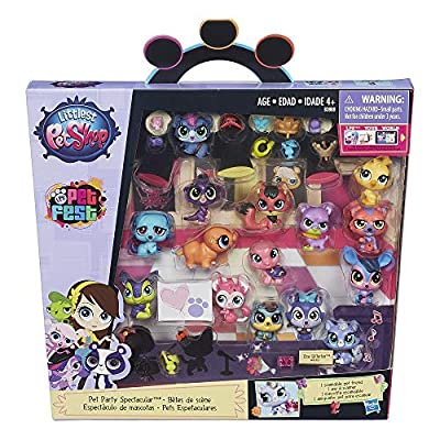 Littlest Pet Shop Pet Party Spectacular Collector Pack Toy, Includes 15 Pets, Ages 4 and Up(Amazon Exclusive) from Hasbro