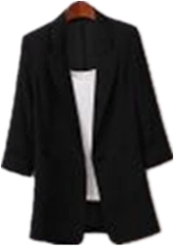 Women's Elegant Suit Jacket, Women Blazers Windproof Coat Trench Coat Coats Spring Autumn Coat Blouse Jacket