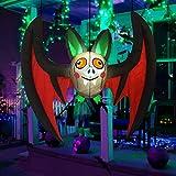 GOOSH 5 FT Halloween Inflatable Outdoor Hanging Bat...