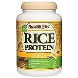 Best Jarrow Vegan Protein Powders - NutriBiotic – Vanilla Rice Protein, 1 Lb 5 Review