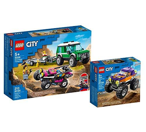 Collectix Lego 60288 City Monster ruck 60251 - Juego de carrito de carreras (5 años)