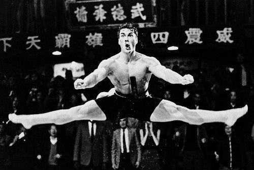 Jean-Claude Van Damme 24x36 Poster kick boxer pose
