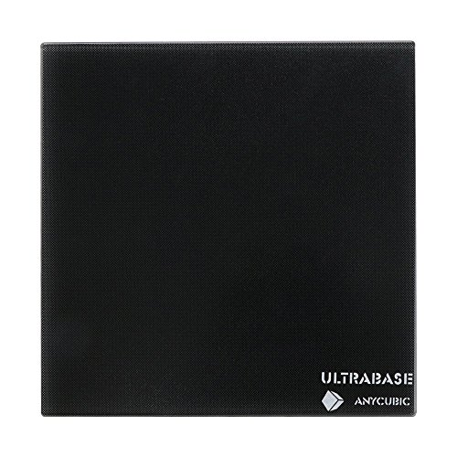 ANYCUBIC Ultrabase 3D Drucker Plattform Platte Durable Build Oberfläche für Prusa i3 MK2 MK3 Heatbed (Ultrabase Glas 310x310mm)