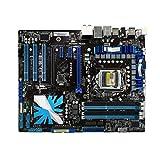 RKRLJX Placa Madre Placa Base del Juego LGA 1156 Fit For ASUS P7P55D Placa Base DDR3 Core I7 / Core I5 USB2.0 SATA II P7P55D Intel P55 MAPEL DE ESCRUPOS