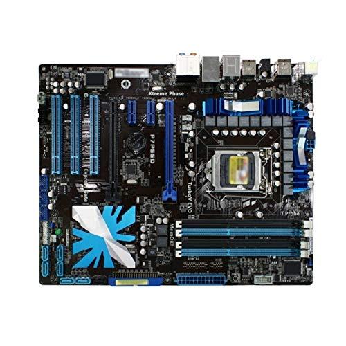 XCJ Placa Base Gaming ATX Placa Base del Juego LGA 1156 Fit For ASUS P7P55D Placa Base DDR3 Core I7 / Core I5 USB2.0 SATA II P7P55D Intel P55 MAPEL DE ESCRUPOS Placa Madre
