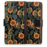 DeinDesign Étui Compatible avec Sony Xperia XZ2 Compact Étui Folio Étui magnétique Tournesol...