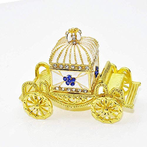 JLXQL Collectable Statue Ornament Craft Crown Car Valentine Gift Metal Craft Gift Home Decoration