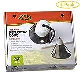 Zilla Premium Reflector Dome - Light & Heat 5.5' - Pack of 6