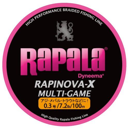 ラパラ ラピノヴァX マルチゲーム 4本編み