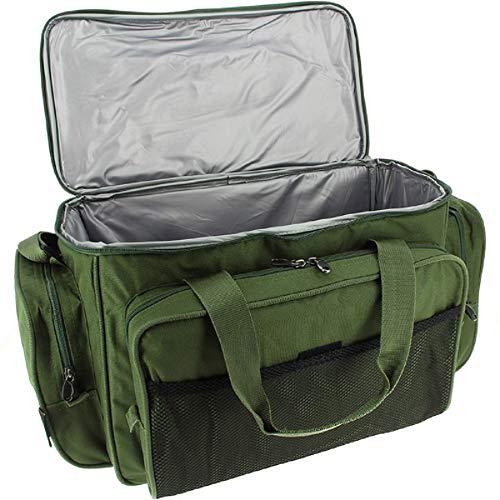 Karpfen Angel Zubehör Carry all Tasche Mit Isoliert Futter In Camo oder Grün - Olivgrün
