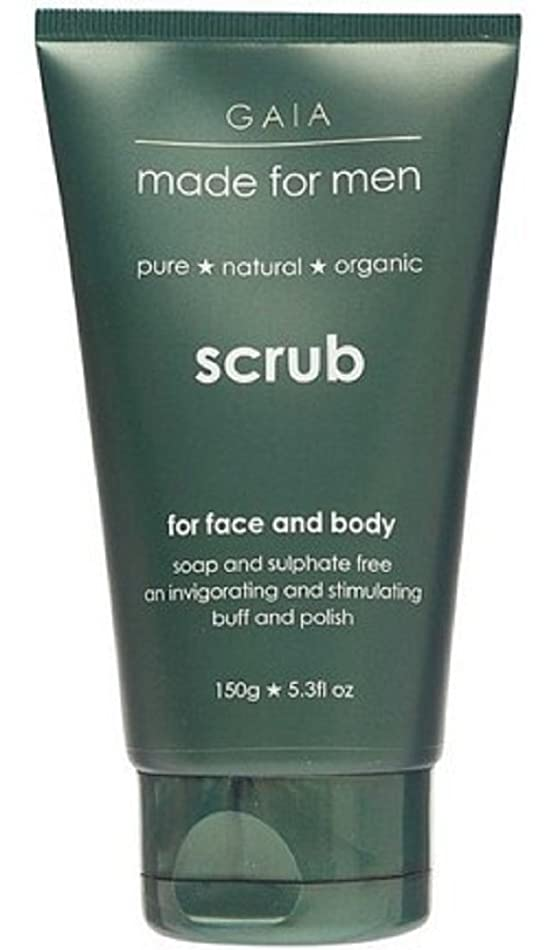 オープナーボイド初期【GAIA】Face & Body Scrub made for men ガイア メンズ フェイス&ボディスクラブ 150g