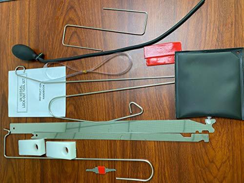 Lock Technology LTI Deluxe Master Emergency Response Automotive Kit 450
