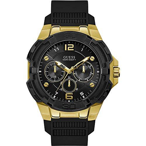 GUESS Men's Stainless Steel Quartz Watch...