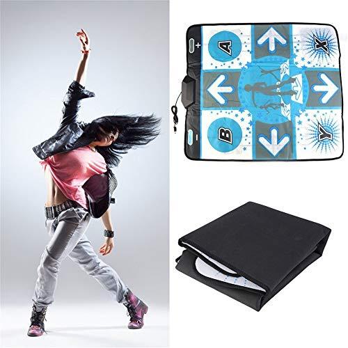 RHSMW Diseño Antideslizante Alfombra De Baile Adecuado para Wii para PC TV Accesorios para Juegos De Baile Utilizado para Familia Deporte Bajar De Peso
