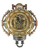 Steampunk Coronel J. Fizziwigs colección Reloj de Pared