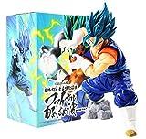 M C S Figura Vegetto Vegeto Blue Dragon Ball Z DBZ Super Figure tamaño 18 cm colección muñeco Goku V...