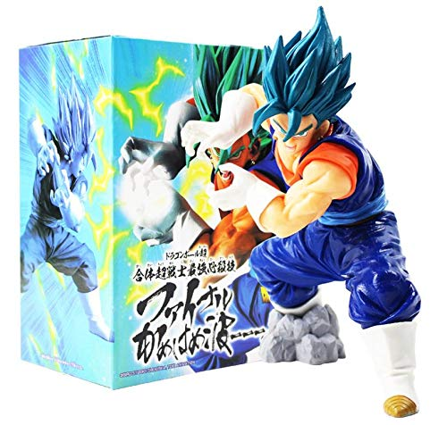 M C S Figura Vegetto Vegeto Blue Dragon Ball Z DBZ Super Figure tamaño 18 cm colección muñeco Goku Vegeta