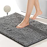 Best Bathroom Rugs - SONORO KATE Bathroom Rug,Non-Slip Bath Mat,Soft Cozy Shaggy Review