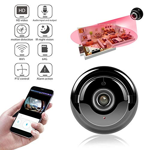 1080 HD WiFi Mini Camera, Wireless Network Home...