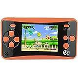 【Nuovo Aggiornamento】: QS-4 è un prodotto nuovamente lanciato di console di giochi portatile plug & play per bambini. Sono stati aggiunti molti altri giochi interessanti al fine di portare una esperienza eccezionale di gioco agli amanti dei videogioc...