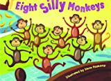 Bendon 13374 Piggy Toes Press Eight Silly Monkeys Board Book