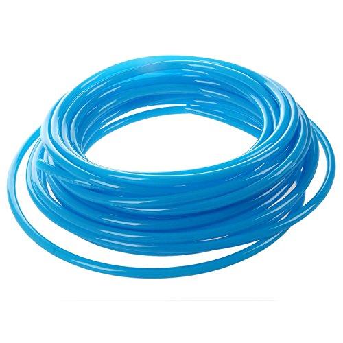 Manguera tubo tuberia de aire de PU - SODIAL(R)10M 32.8ft 6mm x 4mm Tubo tuberia manguera de PU de poliuretano neumatico Azul