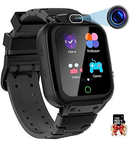 Vannico Orologio Intelligente Bambini con 7 Giochi, 21 in 1 Musica Smartwatch Bambini Touch Screen con Video Cronometro Sveglia Fotografica, Regalo Ragazzo e Ragazza