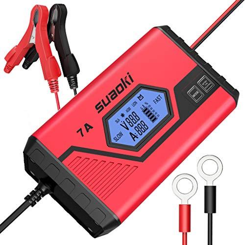 Puissant chargeur intelligent de 7A pour les grosses batteries 12V